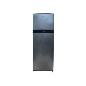 MIKA Refrigerator, 200L, Direct Cool, Double Door, Line Silver Dark photo