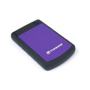 Transcend External 2TB Hard Disk– Purple photo