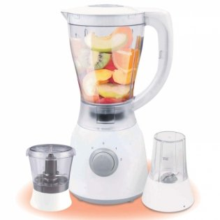 BLENDER + MILL, 1.5 LITRES, 2 SPEED- RM/368 By Hotpoint
