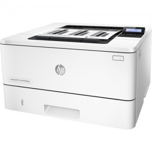 HP LaserJet Pro M402DNE Black & White Duplex Network Printer - White photo