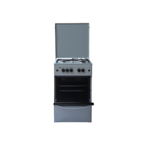 MIKA Standing Cooker, 50cm X 50cm, 3 + 1, Gas Oven, Kircili Grey photo