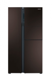 SAMSUNG SBS FRIDGE RS552NRUA9M photo