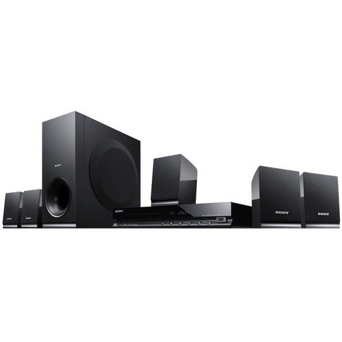 Sony DAV-TZ140 5.1Ch 300W DVD Home Theater System Black By Sony