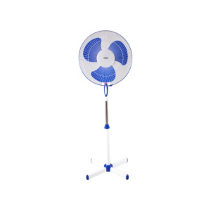 "MIKA Stand Fan 16"", Blue & White MFS1601/BW photo"