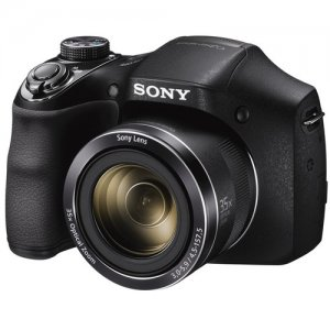Sony Cyber-shot DSC-H300 Digital Camera (Black) photo