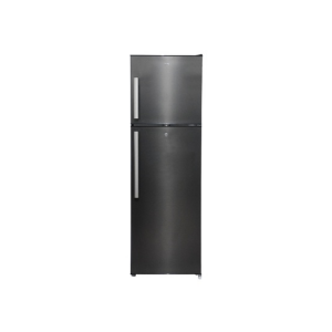 MIKA No Frost Refrigerator, 251L, Double Door, Dark Matt Stainless Steel photo