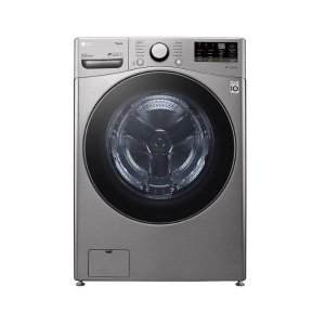 LG F3L2CRV2T Front Load Washer Dryer, 20/12KG - Silver photo